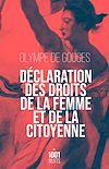 Télécharger le livre :  Déclaration des droits de la femme et de la citoyenne-NED