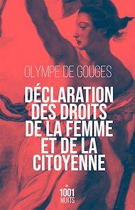 Téléchargez le livre :  Déclaration des droits de la femme et de la citoyenne-NED