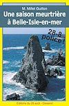 Télécharger le livre : Une saison meurtrière à Belle-Isle-en-mer