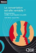 Download this eBook La concertation est-elle rentable ?