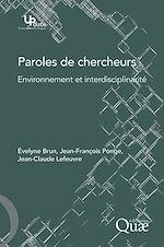 Download this eBook Paroles de chercheurs