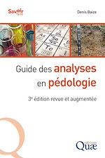 Download this eBook Guide des analyses en pédologie