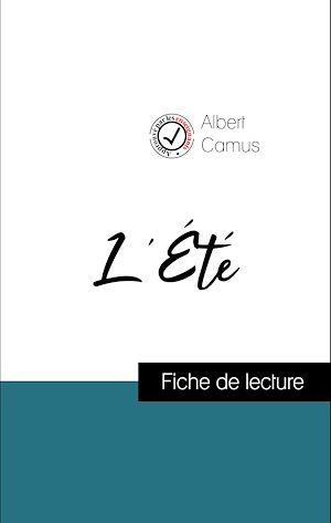 Téléchargez le livre :  Analyse de l'œuvre : L'Été (résumé et fiche de lecture plébiscités par les enseignants sur fichedelecture.fr)