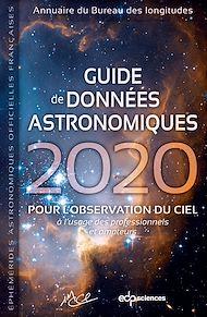 Téléchargez le livre :  Guide de données astronomiques 2020