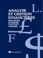 Download this eBook Analyse et gestion financières