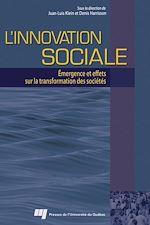 Téléchargez le livre numérique:  L'innovation sociale