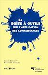 Télécharger le livre :  La boîte à outils sur l'application des connaissances