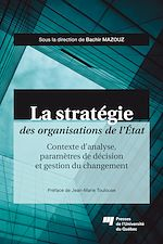 Download this eBook La stratégie des organisations de l'État