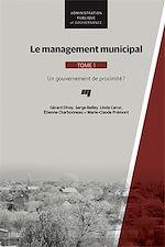 Download this eBook Le management municipal, Tome 1