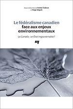 Download this eBook Le fédéralisme canadien face aux enjeux environnementaux