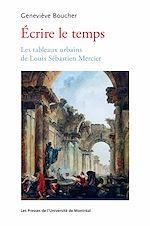 Download this eBook Écrire le temps
