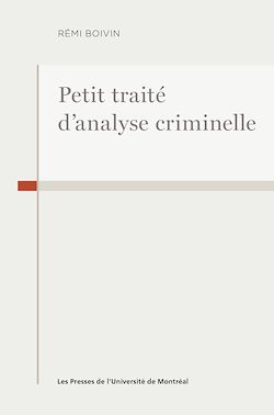 Download the eBook: Petit traité d'analyse criminelle