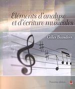 Téléchargez le livre :  Éléments d'analyse et d'écriture musicales (3e édition)