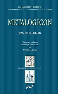 Téléchargez le livre :  Metalogicon. Jean de Salisbury