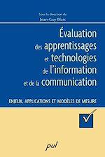 Téléchargez le livre :  Évaluation des apprentissages et technologies de l'information et de la communication