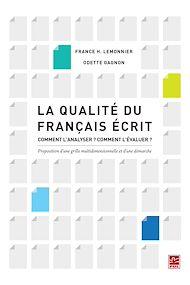 Téléchargez le livre :  La qualité du français écrit