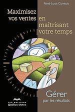 Download this eBook MAXIMISEZ VOS VENTES EN MAITRISANT VOTRE TEMPS