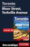 Télécharger le livre :  Toronto - Bloor Street, Yorkville Avenue