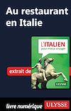 Télécharger le livre :  Au restaurant en Italie (Guide de conversation)