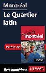 Téléchargez le livre :  Montréal - Le quartier latin