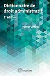 Télécharger le livre :  Dictionnaire de droit administratif