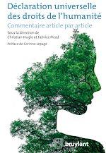 Téléchargez le livre :  Déclaration universelle des droits de l'humanité