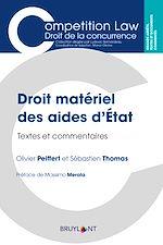 Téléchargez le livre :  Droit matériel des aides d'État