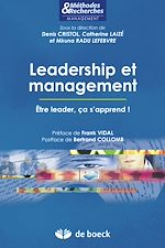 Download this eBook Leadership et management