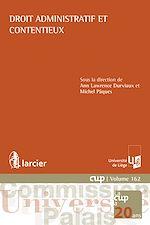 Download this eBook Droit administratif et contentieux