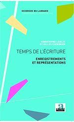 Download this eBook Temps de l'écriture