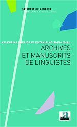 Download this eBook Archives et manuscrits de linguistes