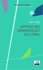 Download this eBook Approches sémantiques de l'oral