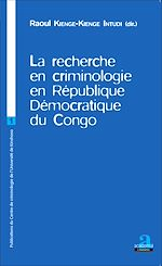 Download this eBook La recherche en criminologie en République Démocratique du Congo