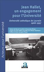 Download this eBook Jean Hallet, un engagement pour l'Université