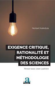 Téléchargez le livre :  Exigence critique, rationalité et méthodologie des sciences
