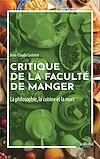 Télécharger le livre :  Critique de la faculté de manger