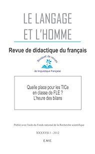 Téléchargez le livre :  Quelle place pour les TICe en classe de FLE ? L'heure des bilans