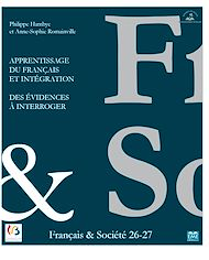 Téléchargez le livre :  Apprentissage du français et Intégration