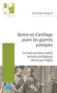 Téléchargez le livre :  Rome et Carthage avant les guerres puniques