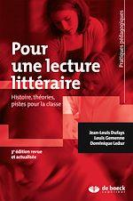 Download this eBook Pour une lecture littéraire