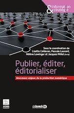 Download this eBook Publication édition éditorialisation numériques