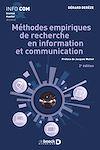 Télécharger le livre :  Méthodes empiriques de recherche en information et communication