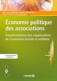Téléchargez le livre :  Economie politique des associations