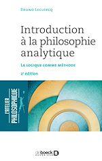 Download this eBook Introduction à la philosophie analytique