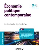 Download this eBook Économie politique contemporaine