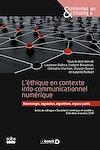 Télécharger le livre :  L'éthique en contexte info-communicationnel numérique