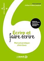 Download this eBook Écrire et faire écrire