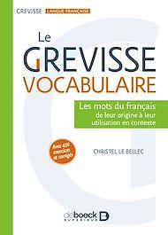 Téléchargez le livre :  Le Grevisse vocabulaire