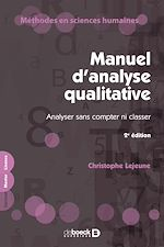 Download this eBook Manuel d'analyse qualitative