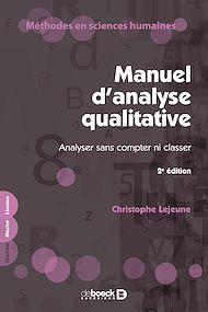 Téléchargez le livre :  Manuel d'analyse qualitative